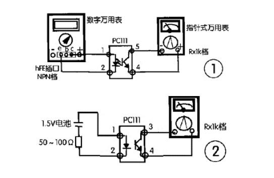由于光耦内部的发光二极管和光敏三极管只是把电路前后级的电压或电流