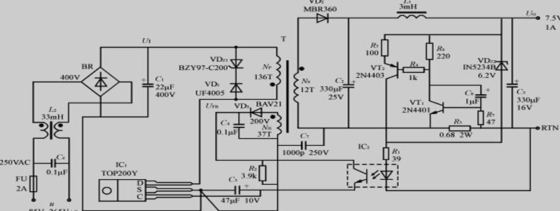 恒压/恒流输出式开关电源的工作原理