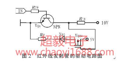 由于npn型三极管驱动电流低于20 ma,需在电路中加入p-mos管增强驱动能